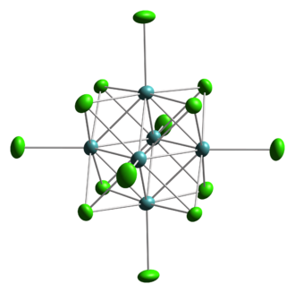 Cluster chemistry - Structure of Mo6Cl142−.