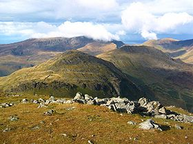 Moel yr Ogof, Moel Lefn, and the Nantlle Ridge - geograph.org.uk - 72485.jpg