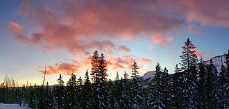 Molas Pass - Image: Molas pass panorama
