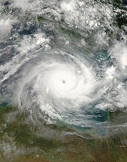 Cyclone Monica Category 5 Australian region cyclone in 2006