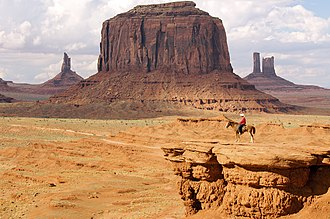 Monument Valley - Monument Valley, Apache scout