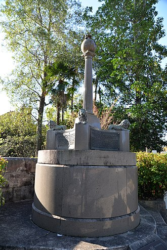 Ernest Fisk - Image: Monument celebrating first wireless broadcast between Wales and Australia 1918 2