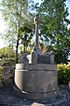 Monument celebrating first wireless broadcast between Wales and Australia 1918 2.jpg