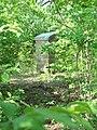 Monument on hilltop site of historic Gilbert's Creek Church.JPG