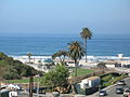 Moonlight Beach from the Moonlight Beach Motel.JPG