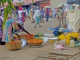Lokoja - Market place in Lokoja