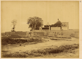 Mosque in Hami's Muslim District, Showing the Juxtaposition of Chinese Roof and Islamic Dome. Xinjiang, China, 1875 WDL2066.png