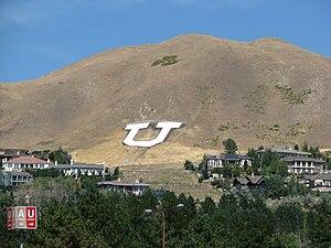 Mount Van Cott, Home of the University of Utah...