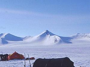 Barbeau Peak - Barbeau Peak in 2002