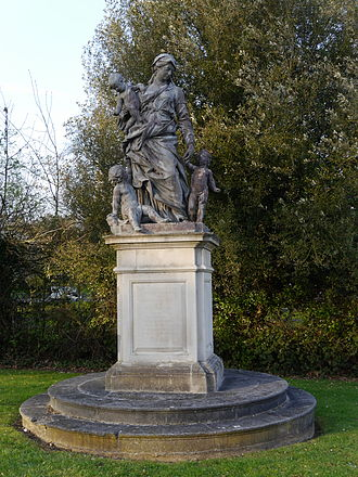 Hugh Colin Smith - Statue in memory of Hugh Colin Smith, Mount Clare
