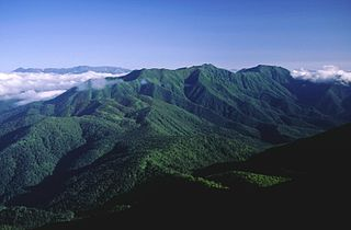 mountain range in Hokkaido, Japan