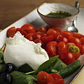 Mozzarella Cherry Tomatoes and light Basil Pesto.jpg