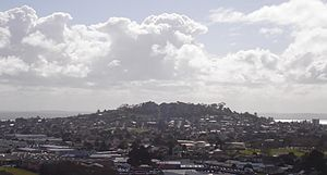 Mount Albert, New Zealand - Mount Albert from Mount Roskill