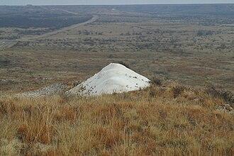 Crosby County, Texas - Image: Mt Blanco 2005