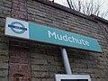 Mudchute DLR stn signage.JPG