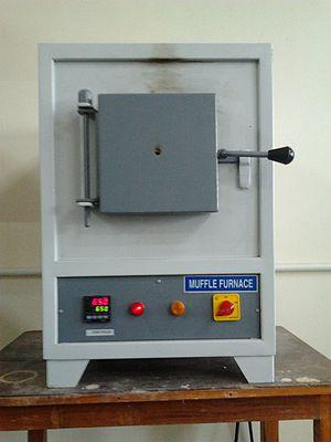 Muffle furnace - Image: Muffle furnace