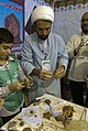 Mufti, Akhoond, Clergy, Mullah طلبه در نمایشگاه بین المللی قرآن تهران.jpg