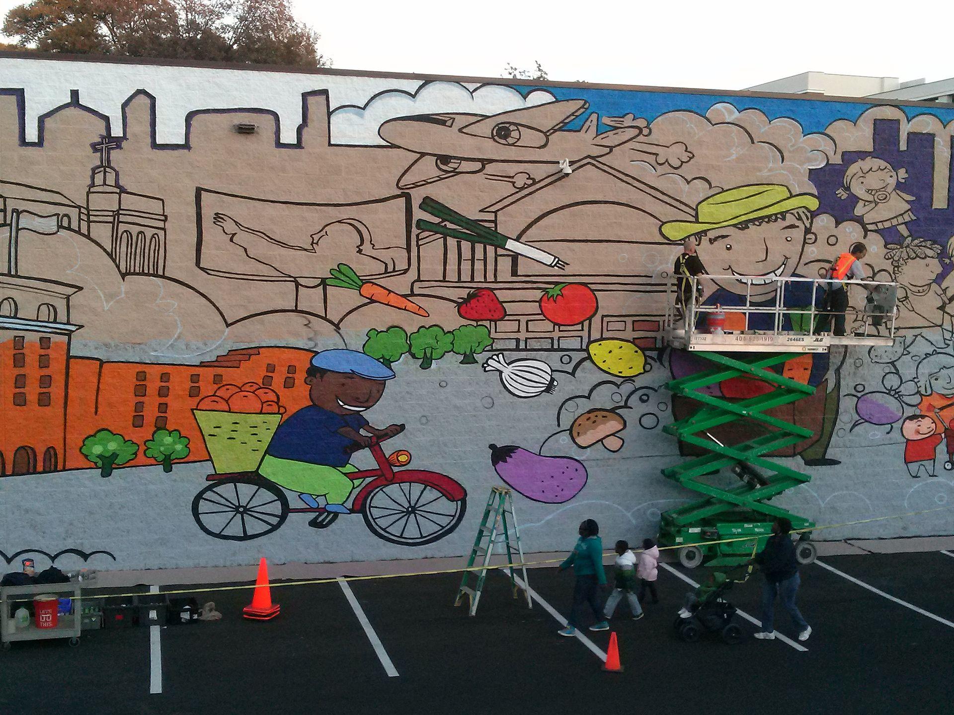 Murder kroger wikipedia for Atlanta mural artist