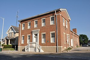Old Jail (Muscatine, Iowa) - Image: Muscatine IA Old Jail