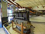 Museo Caproni, motore aeronautico 01.jpg