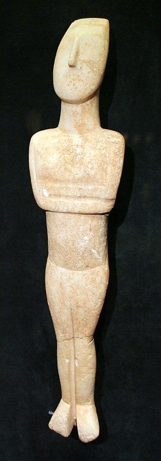 Goulandris Museum of Cycladic Art - Cycladic figure