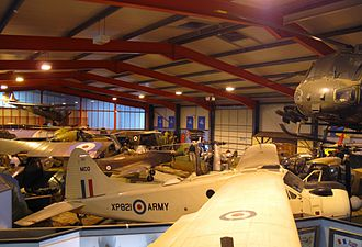 Army Flying Museum - One of the museum's galleries