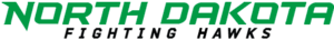 North Dakota Fighting Hawks men's basketball - Image: ND Fighting Hawks wordmark