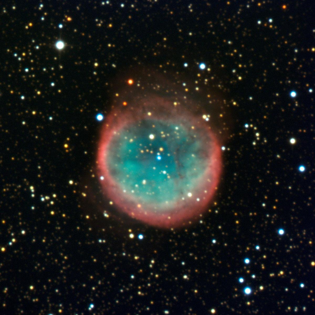 Aufgenommen mit dem 3,6-m-Teleskop des La Silla Observatory