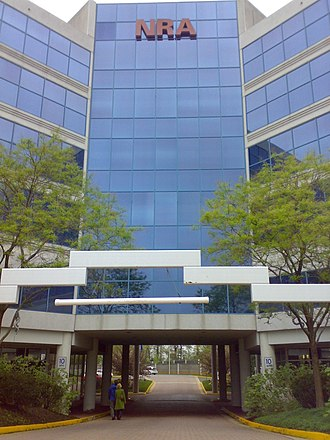 National Rifle Association - NRA headquarters in Fairfax County, Virginia that houses the museum