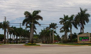Nova Southeastern University - South Entrance of NSU.