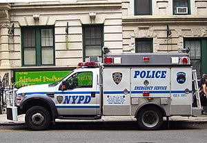 Emergency Services Unit of the New York Police...