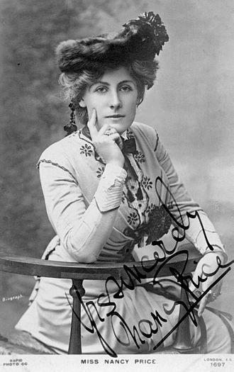 Kinver - Nancy Price, 1900s