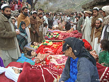 Afghan children killed by US bombing in Narang night raid.