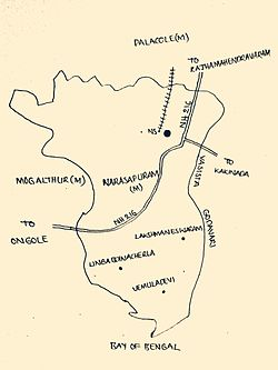 Narasapuram mandal west godavari district wikipedia narasapuram municipality map thecheapjerseys Images