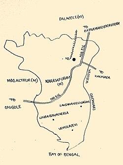 Narasapuram mandal, West Godavari district - Wikipedia