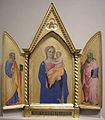 Nardo di cione, madonna col bambino tra i santi pietro e giovanni evangelista.JPG