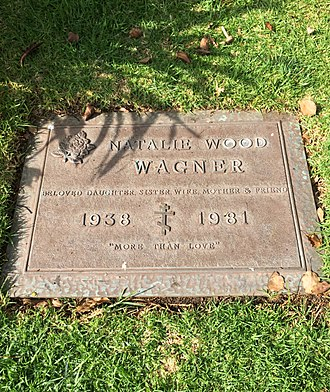 Natalie Wood - Grave of Natalie Wood at Westwood Memorial Park