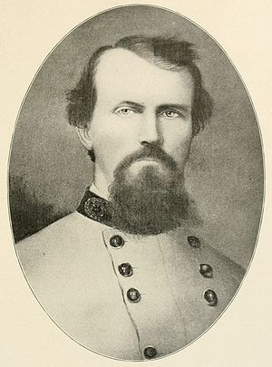 English: Confederate Major General Nathan Bedf...