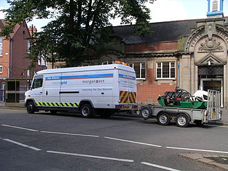 National Grid plc - A National Grid Mercedes-Benz Vario van working in central England in 2007