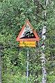 National road 9322 Aavasaksa FI road sign.jpg