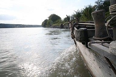 Nationalpark Donau-Auen Orth an der Donau 2012 Tschaike 06.jpg