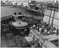 Naval Air Station, San Pedro, Shipboard ceremony - NARA - 295533.tif