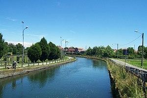 Naviglio di Bereguardo - Part of the canal.