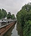 Naviglio in Viale Alessandro Manzoni con pioggia - Vigevano.jpg