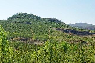 Nazko Cone mountain in Canada