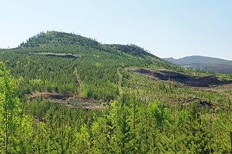 2007–2008 Nazko earthquakes - Nazko Cone, the volcano that was adjacent to the 2007–2008 Nazko earthquakes.