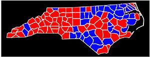 North Carolina gubernatorial election, 1988 - Image: Nc 88