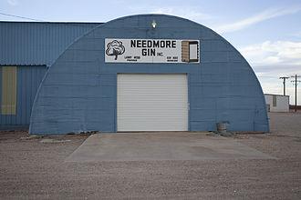 Terry County, Texas - Image: Needmore Texas Cotton Gin
