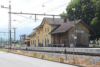Nendeln - Nendeln railway station