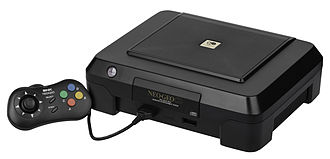 Neo Geo CD - The front-loading version was the first to market, and only released in Japan.